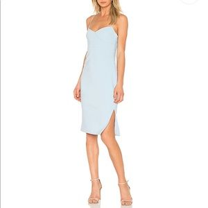 REVOLVE caprio dress in blue bell LIKELY